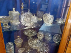 Karlovské muzeum - výstava skla