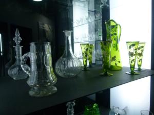 Muzeum sklářství Karolinka - nejstarší skleněné výrobky