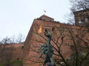 Drak na Wawelu