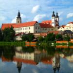 Telč - pohled k historickému centru