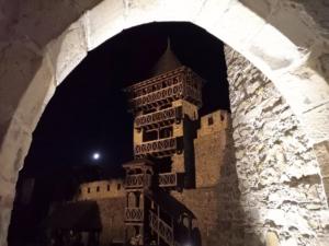 Věž s vyhlídkou na celý hrad Helfštýn