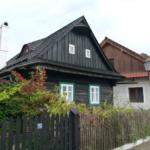 Dřevěné roubenky ve Štramberku