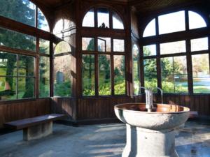 Karlova Studánka, pitný pavilon