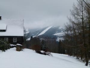 Roubenky v krajině pohoří Kralický Sněžník